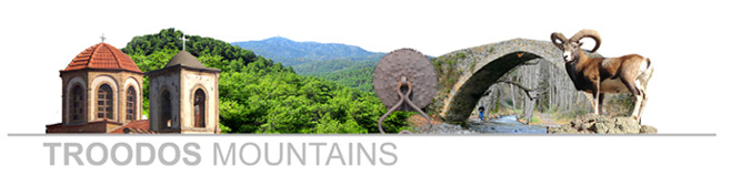 Cyprus Troodos Mountains Logo